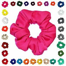 Full & Fluffy Scrunchie Ponytail Holder Hair Accessories Available 40+Colors