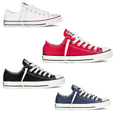 NEW Womens Classic Chuck Taylor Low Trainer Sneaker All Stars OX Shoes 4 ColorS