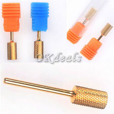 New Electric Cylinder Carbide File Drill Bit Nail Art Manicure Pedicure Tool