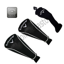 Callaway Replacement Headcovers In Black Driver/Fairway/Hybrid -New.
