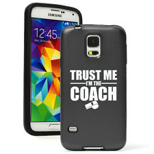 For Samsung Galaxy S3 S4 S5 S6 Shockproof AS Hard Case Trust Me I'm The Coach