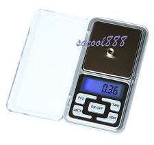 Portable Pocket Digital Jewelry Scale Electronic Balance 100/500 Precision 0.01g