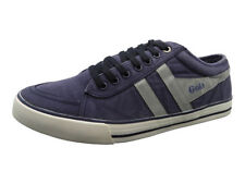 Gola Comet Mens Boys Casual Canvas Fashion Trainers Shoes in Navy / Grey