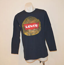 Levi's Boys Printed T Shirt-NAVY BLUE- Sizes - 8-10,10-12 & 12-13 YEARS - NEW