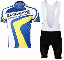 Cycling Jersey Cycle Shirt Bicycle Jersey Cyclist Suit & Bib Short Set MIX-S06