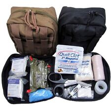 """Elite First Aid Military IFAK """"Individual First Aid Kit"""" w/ Quikclot"""