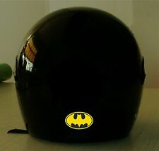 BATMAN REFLECTIVE MOTORCYCLE HELMET DECAL.2 FOR 1 PRICE