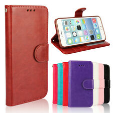 For iPhone 4S 5S 5C 6 Plus Luxury Magnetic Flip Leather Wallet Case Cover Skin