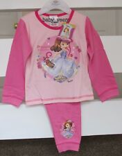 GIRLS DISNEY PRINCESS SOFIA THE FIRST PYJAMAS MINIMUS CHARACTER SLEEPWEAR SET