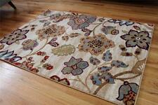 1023 Ivory Burgundy Beige Rust Area Rugs Floral Carpet  2x3,4x5,5x7,8x10,10x13