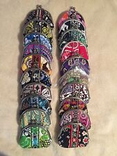Vera Bradley Double Kiss Coin Change Purse Hard to Find Retired Patterns - New