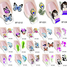 Nail Art Water Transfer Sticker Wraps Pattern Decal Tips Manicure DIY Decoration
