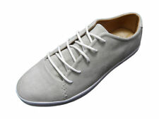 Fins Fin's Mens Boys Fashion Suede Footwear Trainers Shoes in Taupe Grey