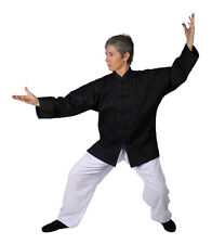 Casual Martial Arts Jacket - Tai Chi Uniform, Kung Fu, Qigong - Large Size
