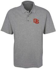 Oregon State Majestic Synthetic Men's Polo Shirt Charcoal Big And Tall Sizes