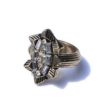 Marc by Marc Jacobs Bird Silver Tone Stackable Ring, SZ 8, NWT IN POUCH
