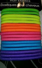 PONYTAIL HOLDERS, PONYS, NEON, VARIOUS COLORS & STYLES