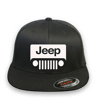JEEP Wrangler Motor Flex Fit HAT CURVED or FLAT BILL ***FREE SHIPPING* #123(A)M