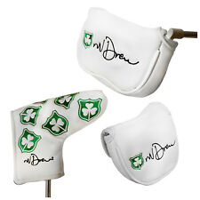 MD GOLF NORMAN DREW PUTTER COVER - IRISH SHAMROCK IRELAND NEW NV SEVE ICON