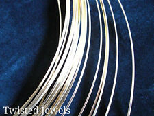 0.5oz 14KY Gold-Filled HH HALF-ROUND Jewelry Wire 16 18 20 21 22 24 GA Gauge