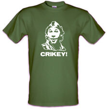 STEVE IRWIN Crikey! The Crocodile Hunter Cult t shirt Sizes from Small to XXL