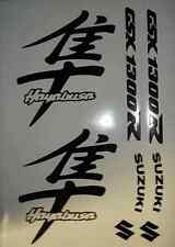 HAYABUSA FAIRING DECAL STICKER 8 PIECE SET