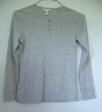 New with Tags! Women's Charter Club Light Gray Longsleeve Shirt MSRP $18!