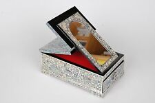Jewelry Box Mother of Pearl Korea Traditional Handmade Antique