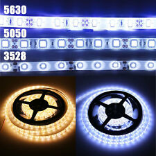 5M SMD 5630 3528 5050 300 LED Strip Light Flexible Car Lamp Waterproof DC 12V