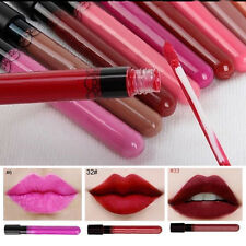 Long Lasting Lipstick Summer Liquid Lip Gloss Matte Lip Pen Waterproof
