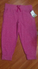 NWT-'Danskin Now' Girls' Terry Jogger Cropped Active Wear Pants-Large-10/12