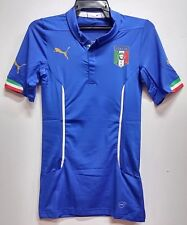 BNWT ITALY AUTHENTIC PLAYERS' VERSION HOME WORLD CUP FOOTBALL SOCCER JERSEY 2014