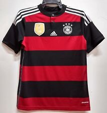 BNWT GERMANY AWAY WORLD CUP KIT YOUTH KIDS BOYS FOOTBALL SOCCER JERSEY 2014