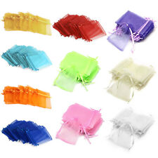 24PCS Candy Gift Bag Pouch Wedding Party Favour Gauze 9x12cm Hot
