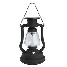 Solar Cell Panel Lantern Camp Outdoor Hand Crank 7 LED Bright Light Lamp 3 Color