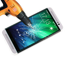 9H New Tempered Glass Screen Protector Film Cover Guard For HTC Mobile Phones