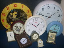 WALL CLOCKS - ALL SIZES ~ click HERE to browse or order