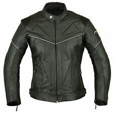 Mens RIDEX LJ-5 Biker Motorbike Motorcycle Leather Jacket CE Armours