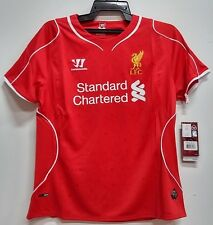 BNWT LIVERPOOL HOME WOMENS FOOTBALL SOCCER JERSEY TRIKOT 2014 2015