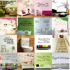 DIY Art Removable Wall Decal Decor Room Stickers Vinyl Home Mural Paper Décor