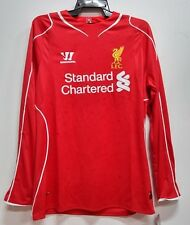 BNWT LIVERPOOL HOME LONG SLEEVES 2014 2015 FOOTBALL SOCCER JERSEY TRIKOT