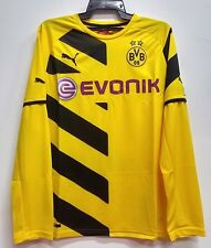 BNWT BORUSSIA DORTMUND HOME LONG SLEEVES 2014 2015 FOOTBALL SOCCER JERSEY TRIKOT