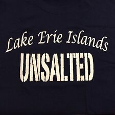 LAKE ERIE ISLANDS UNSALTED NAVY BLUE T SHIRT PUT IN BAY KELLYS ISLAND BRAND NEW