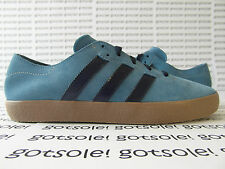 ADIDAS ORIGINALS MENS ADI-EASE SURF NAVY BLUE SUEDE GUM BROWN Q33153 TRAINERS