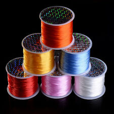 10M Elastic Stretch String Thread Cord Wire For Bracelet Jewelry Beads Making