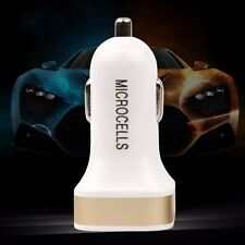2-Port USB Car Charger Adaptor Bullet For iPod iPhone4/ 5/ 6 IOS/Android Phone
