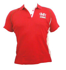 Wales Welsh 'Fashion-Fit' Ladies Rugby Shirt