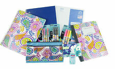 NEW! COUTURE Back to School Bundle Pens Pencils Paper Notebooks... 18-Piece Set