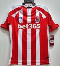 BNWT STOKE CITY HOME FOOTBALL SOCCER JERSEY TRIKOT MAILLOT 2014 2015