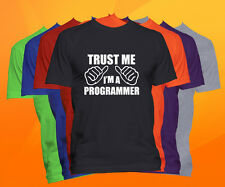 Trust Me I'm A Programmer T Shirt  Career Occupation Profession Tee